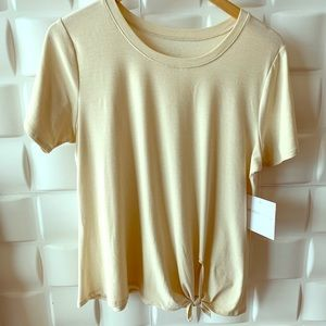 Beyond Yoga Soft Tied Tee